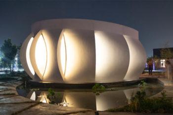Lotus House, una casa solar impresa en 3D