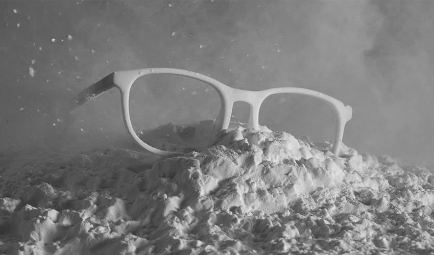 gafas impresas en 3D