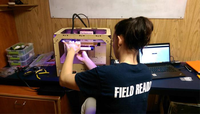 Impresión 3D humanitaria