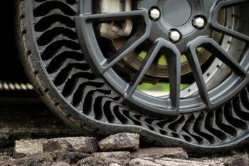 Uptis, el neumático de Michelin sin aire e impreso en 3D