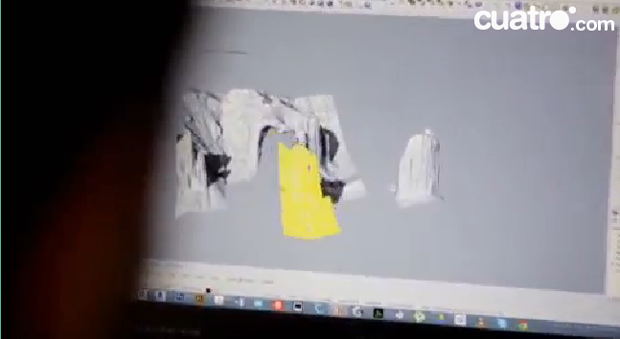 Modelo 3D de los Mallos (Imagen extraída del programa)