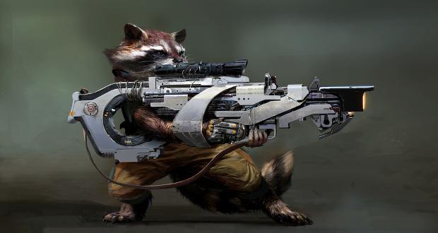 """Armas impresas en 3D para """"Guardianes de la Galaxia"""""""
