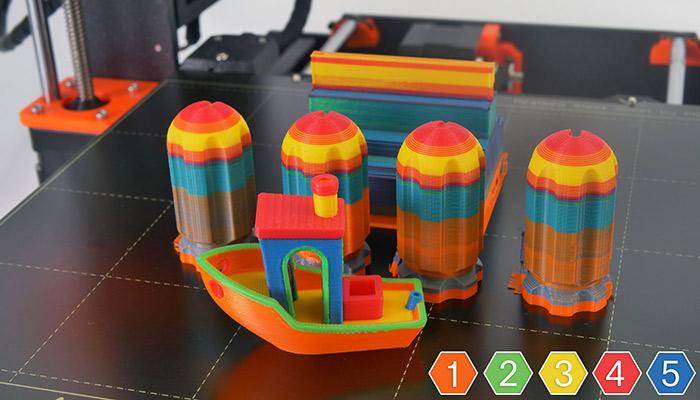 Impresoras 3D a color - Prusa