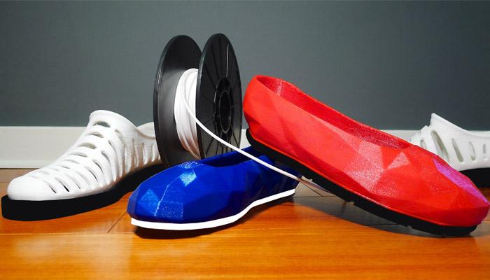 impresión 3D de zapatos