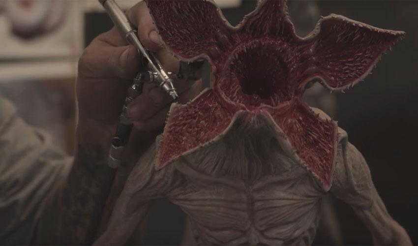 ¿Cómo la impresión 3D dio vida al Demogorgon?