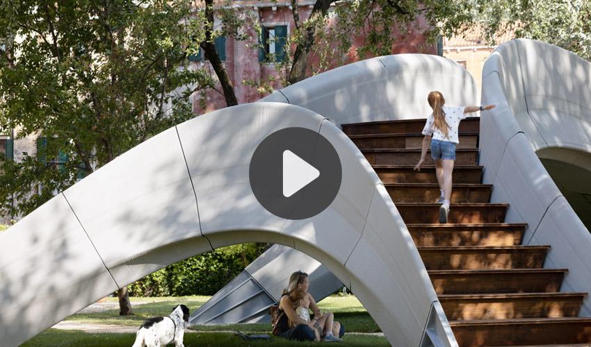 Vídeos 3D: El puente Striatus y la fabricación aditiva de hormigón no reforzado…