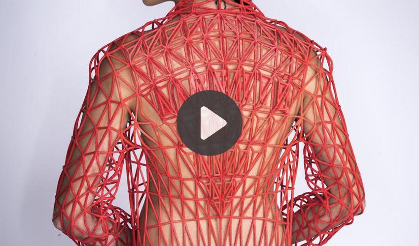 ropa impresa en 3D