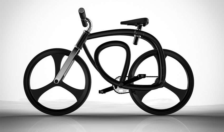 bicicleta futurista