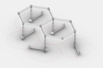 Crane WASP, una impresora 3D modular para la industria de la construcción