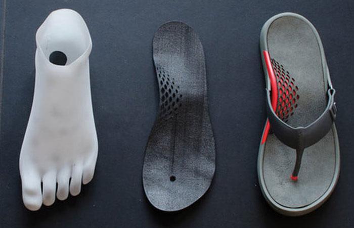 sandalias impresas en 3D
