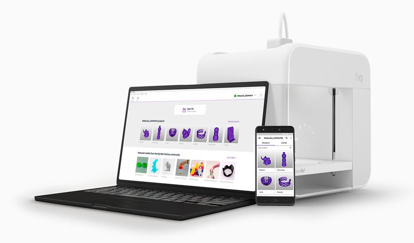 Witbox Go La Primera Impresora 3d Android Se Crea En