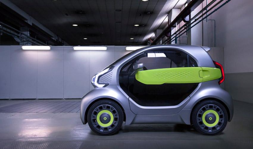 YoYo - coche impreso en 3D