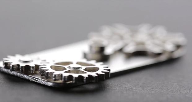 Objeto creado con la tecnología de nanopartículas de metal