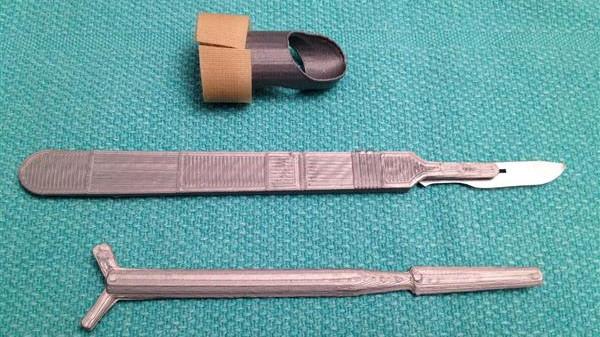 matériel médical imprimé 3D