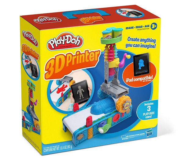 Play doh lance la premi re imprimante 3d pour enfant - Imprimante 3d enfant ...