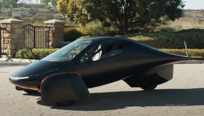 véhicule imprimé en 3D