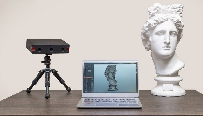 scanner 3D low-cost