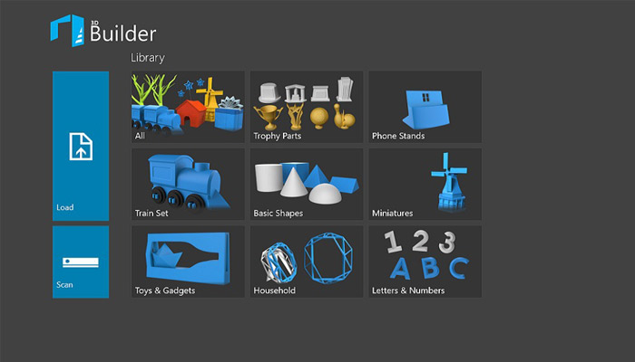 logiciel impression 3d gratuit 3d builder