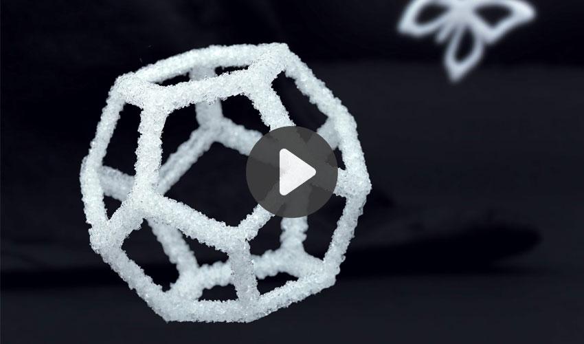 imprimer du verre en 3D