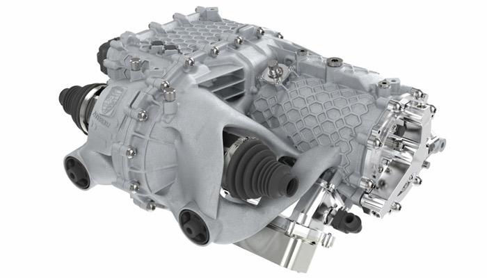E-Antriebsgehäuse Porsche