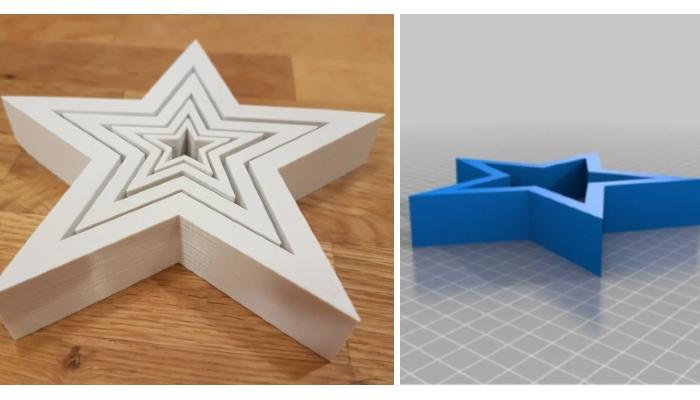décorations de Noël à imprimer en 3D