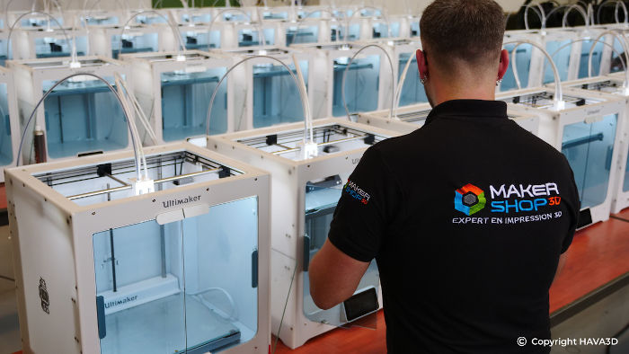 ferme imprimantes 3D