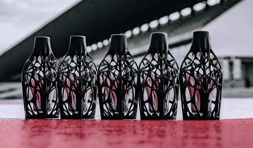 flacon de parfum 3D