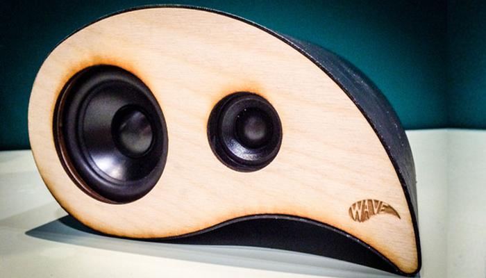 Wave Speaker with Raspberry Pi