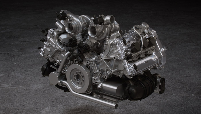 McLaren Artura motor