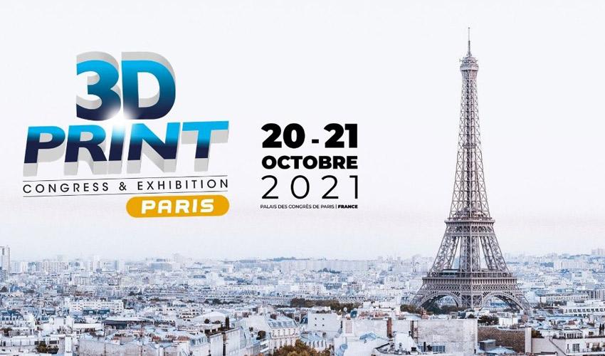 3D Print Congress & Exhibition Paris