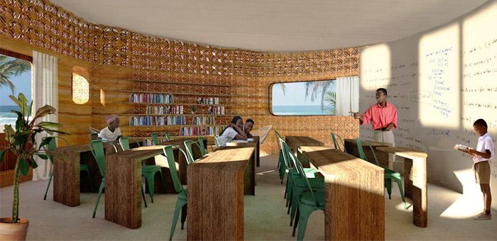 3d construction printing humanitarian