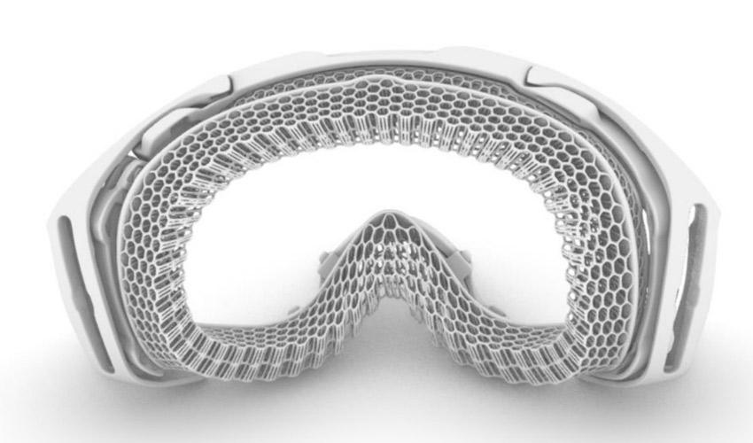 masque ski imprimé 3D