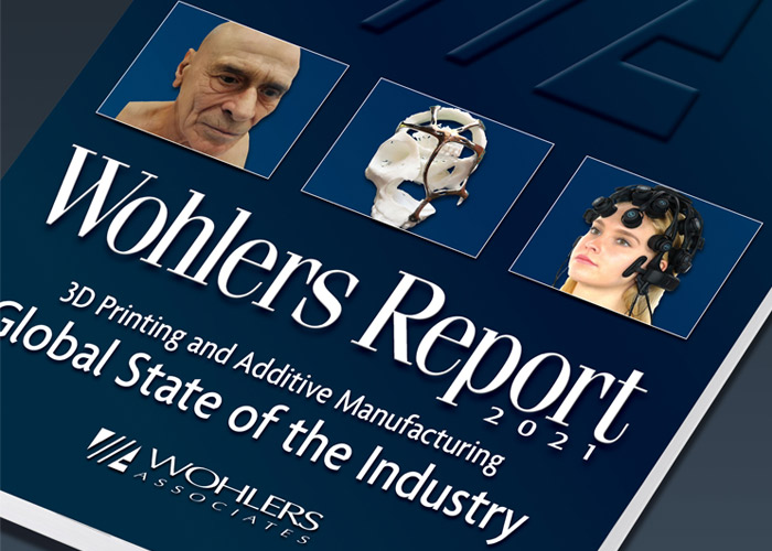 The Wohlers Report 2021 is the 26th edition of the study (photo credits: Wohlers Associates)