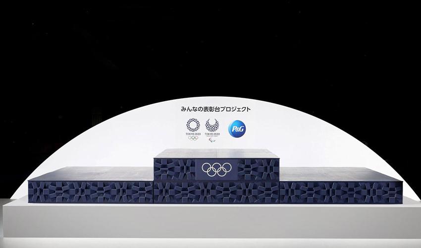podiums imprimés en 3D