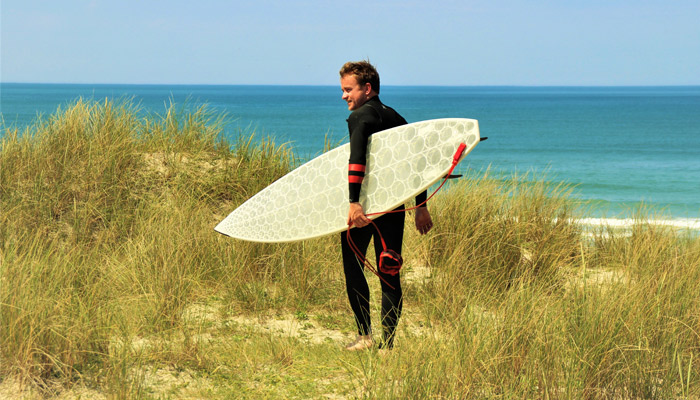 3D printed surfboards