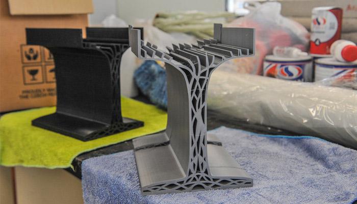 3D-gedruckte Träger
