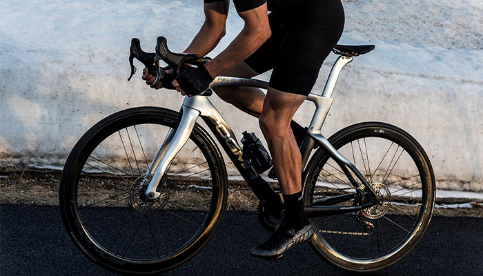 The bike from Materialise and Pinarello