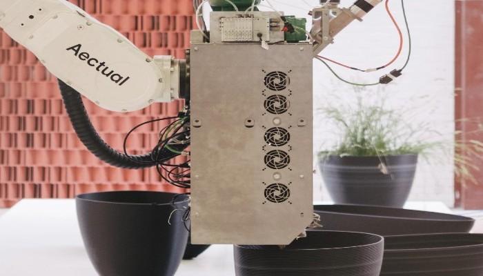 jardinières imprimées en 3D
