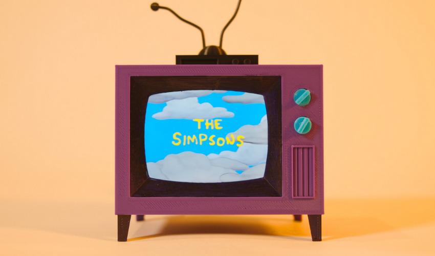 mini-télévision imprimée en 3D