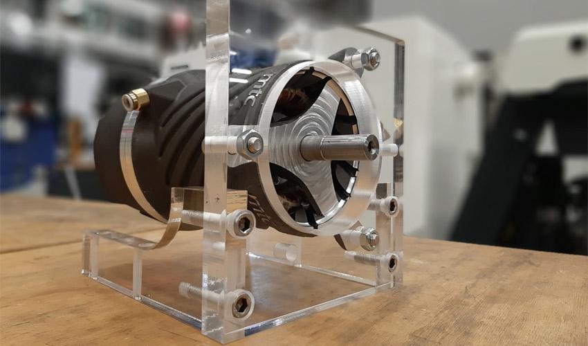 moteur électrique imprimé en 3D