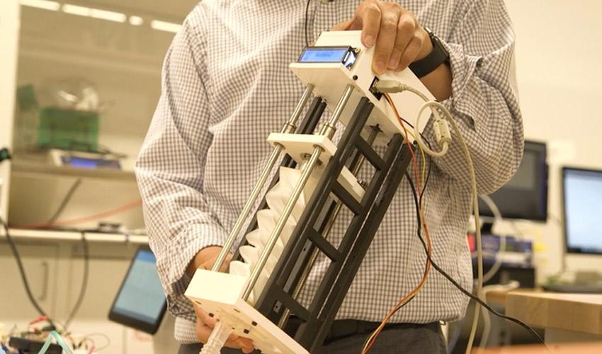 système ventilation imprimé en 3D
