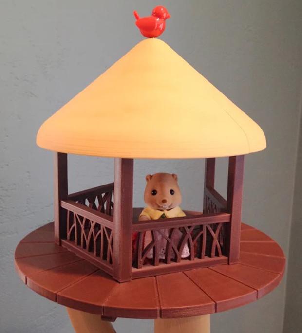 cabane imprimée en 3D