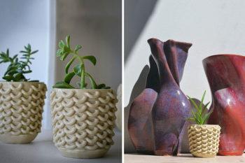 La technologie de 3D Potter facilite l'impression 3D d'argile