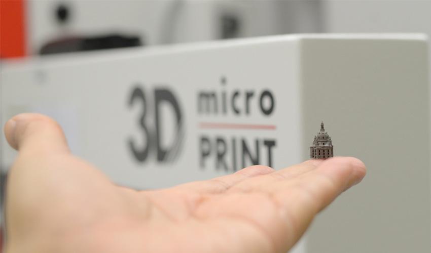 #Startup 3D : 3D MicroPrint, l'impression 3D métal à l'échelle microscopique