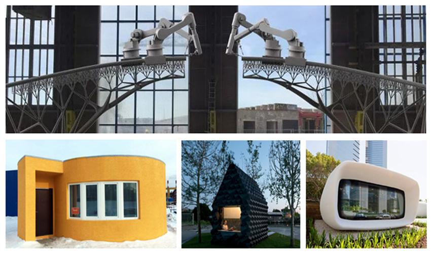 TOP 12 des applications de l'impression 3D au service de l'architecture