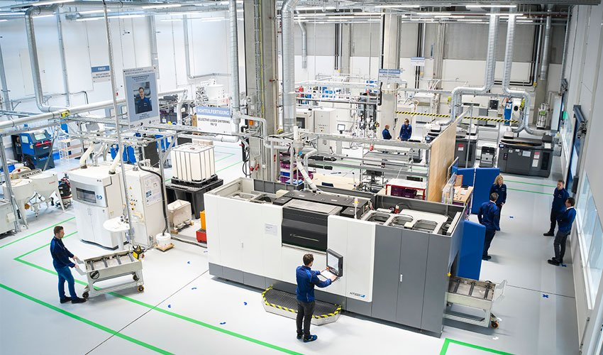 bmw centre de fabrication additive