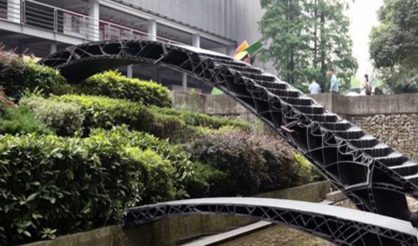 La Chine fabrique ses premiers ponts imprimés en 3D