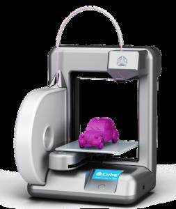L'imprimante Cube de chez Cubify, primée dans la catégorie Best 3D Printer for Beginners