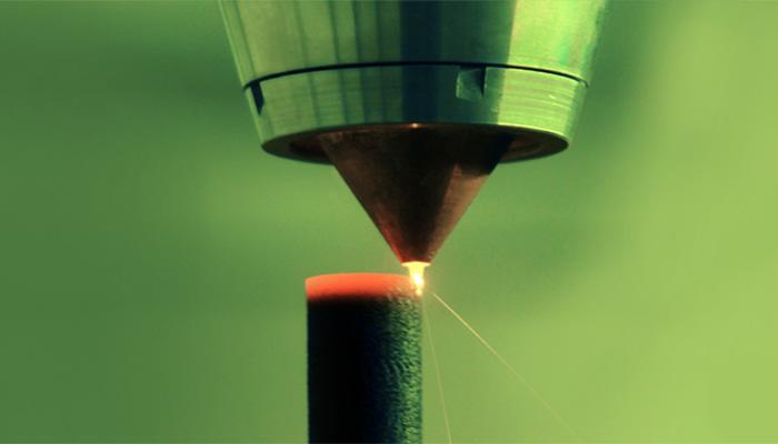 dépôt de matière sous énergie concentrée