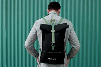 Deriva Sailmakers fabrique des sacs à dos avec des voiles et une touche de 3D